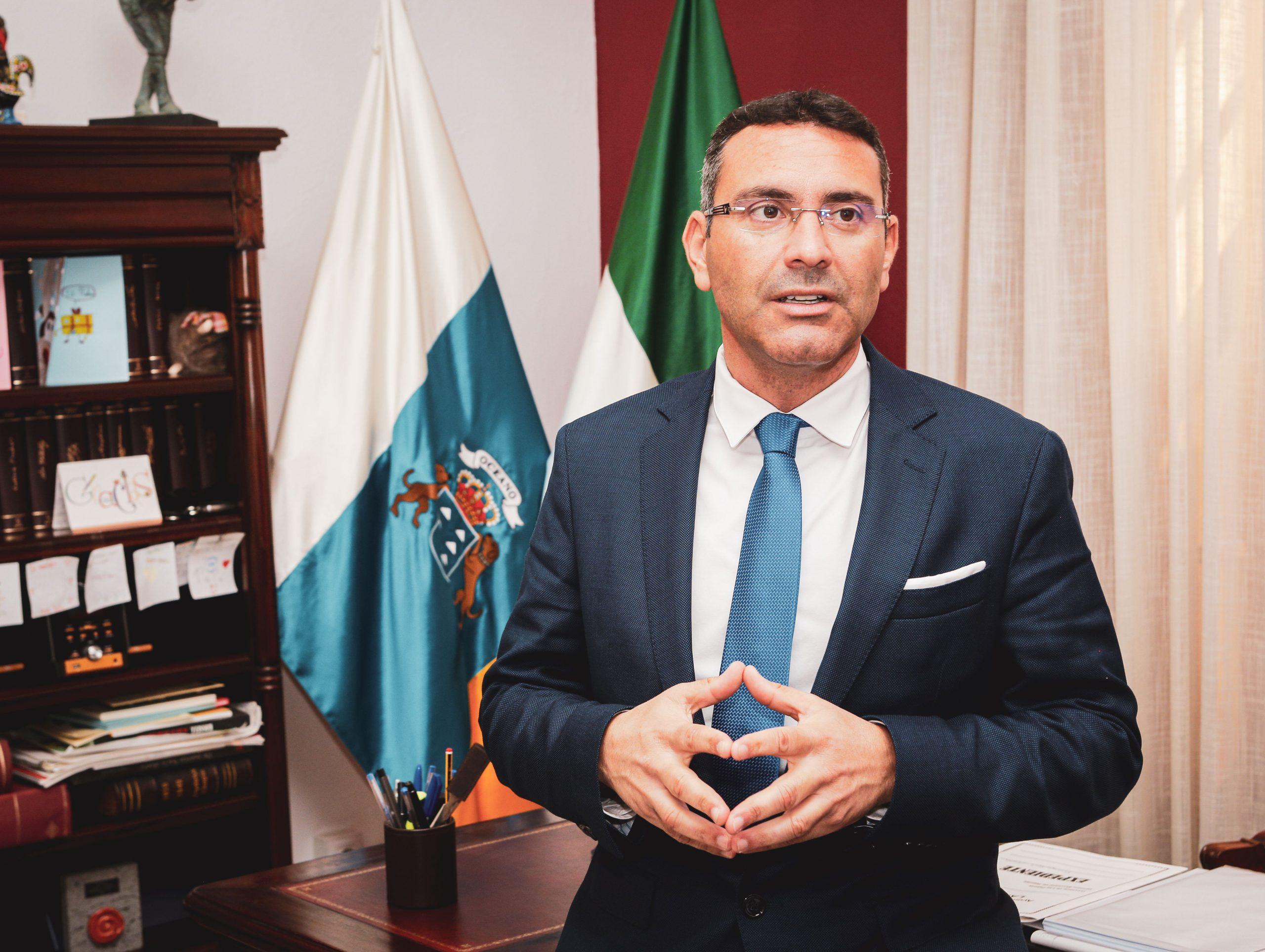 Oswaldo Betancort plantea al Gobierno de Canarias aliviar restricciones y acabar con el yugo del semáforo Covid
