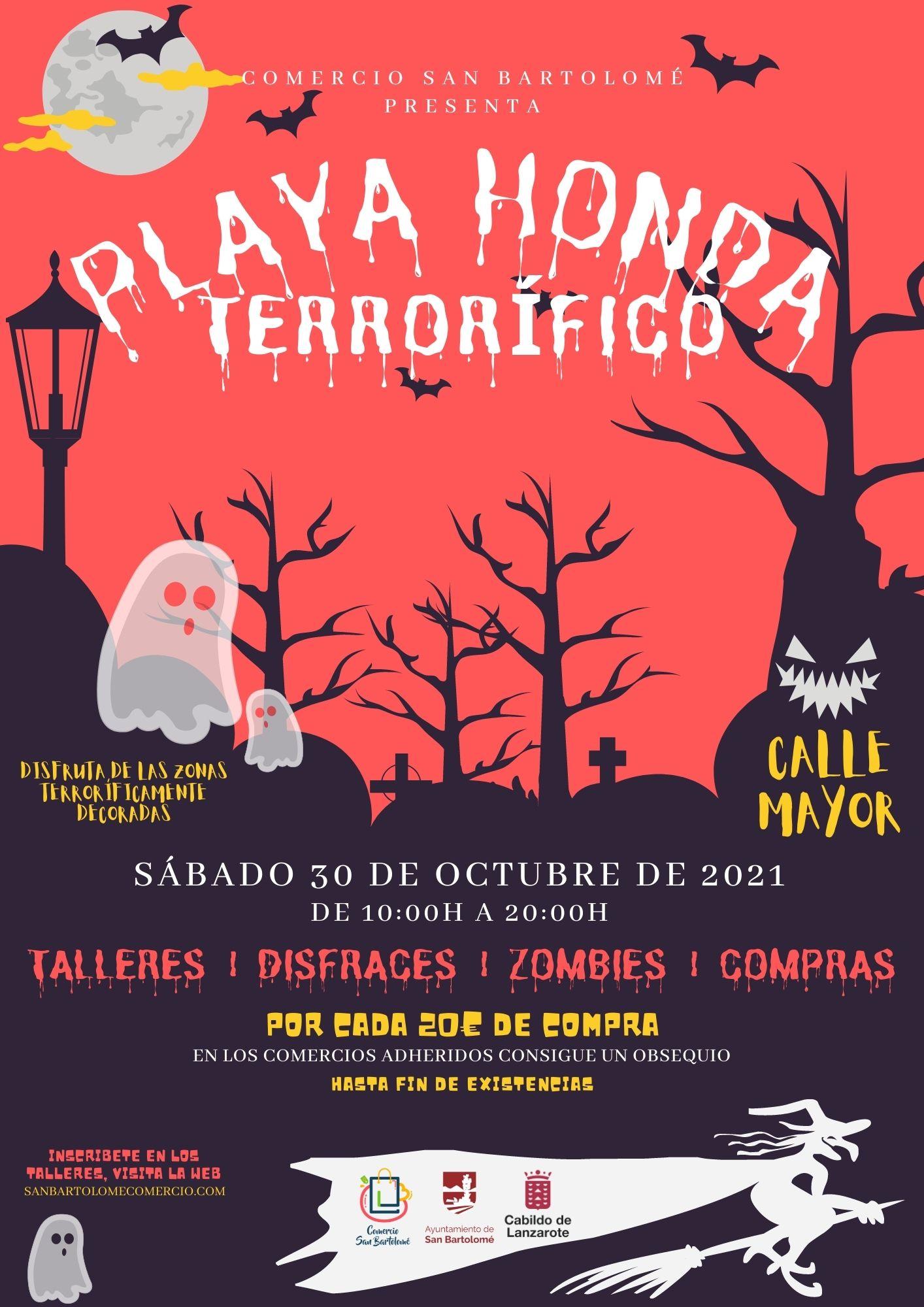 """""""Playa Honda Terrorífica"""" para celebrar Halloween"""