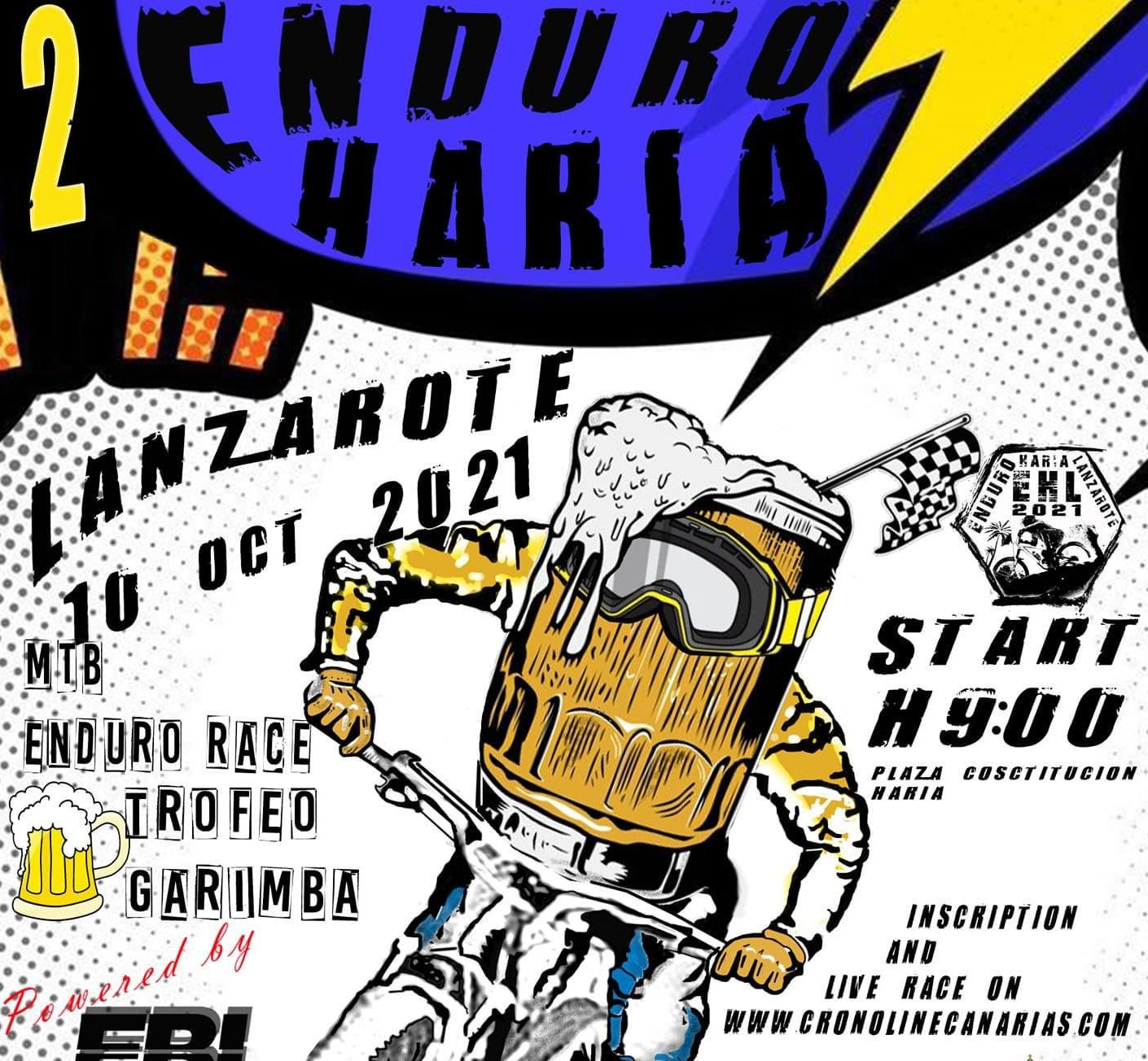 El Ayuntamiento organiza la segunda edición de la carrera ciclista Enduro Haría Lanzarote