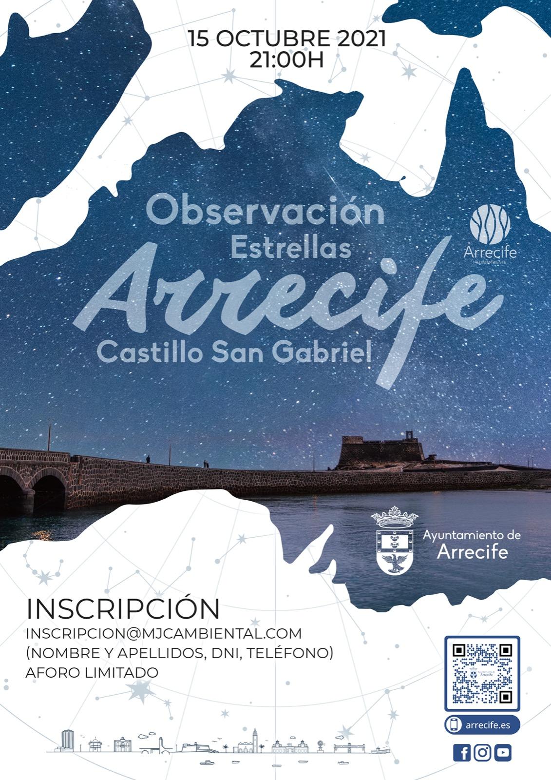 """El Ayuntamiento invita a disfrutar de la sostenibilidad lumínica de Arrecife con """"Noche de estrellas"""""""