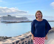 Arrecife da la bienvenida a cerca de 2.500 turistas en su segundo fin de semana de temporada de cruceros