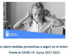 Educación convoca cursos de formación sobre medidas preventivas frente al COVID